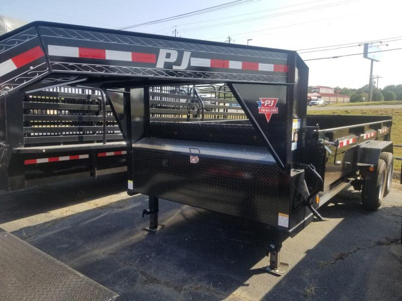 2020 PJ Trailers 16X83 LOW PRO GOOSENECK Dump Trailer