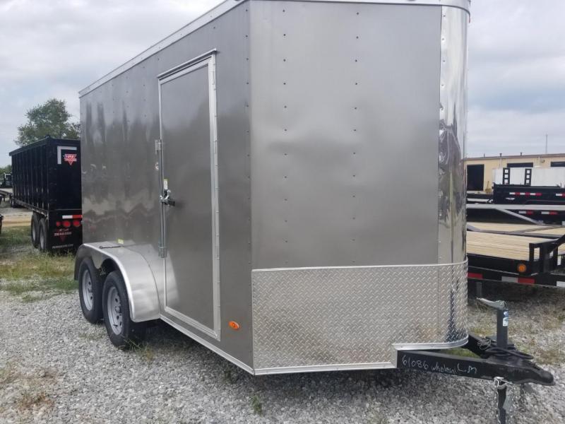 2019 Freeedom Elite 7X12 TA Enclosed Cargo Trailer