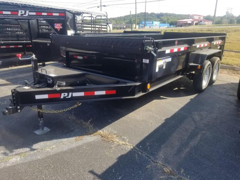 2020 PJ Trailers 16X83 LOW PRO Dump Trailer