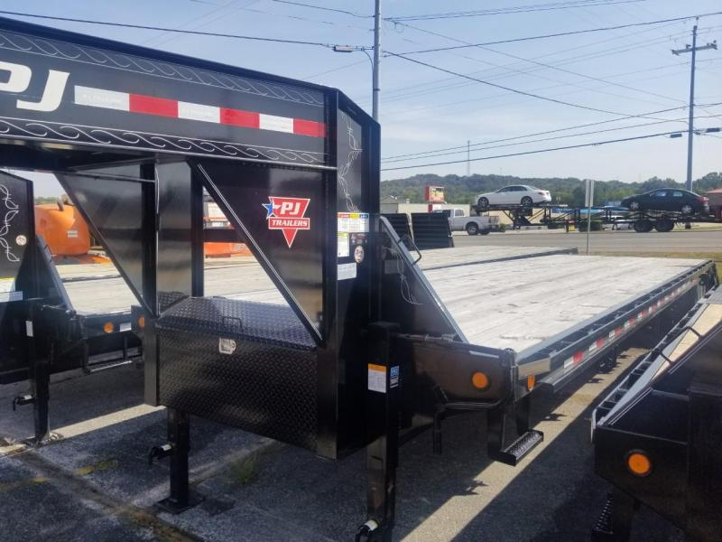 2019 PJ Trailers FY402 HYDRAULIC DOVE Flatbed Trailer