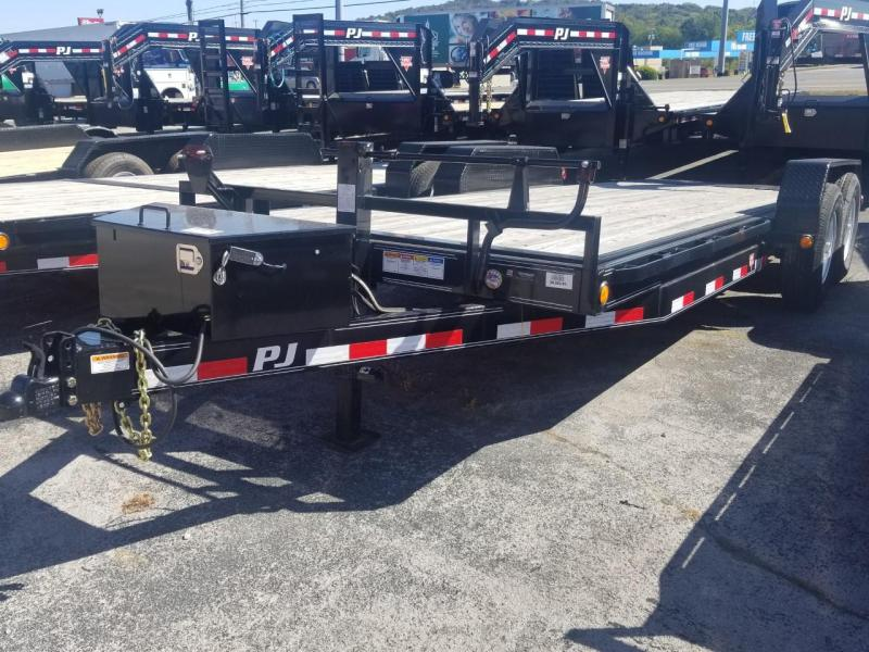 2019 PJ Trailers TF202 POWERED FULL TILT TRAILER