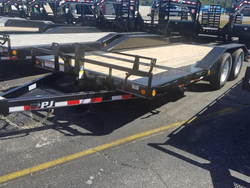 2020 PJ Trailers TS202 SUPER-WIDE TILT TRAILER