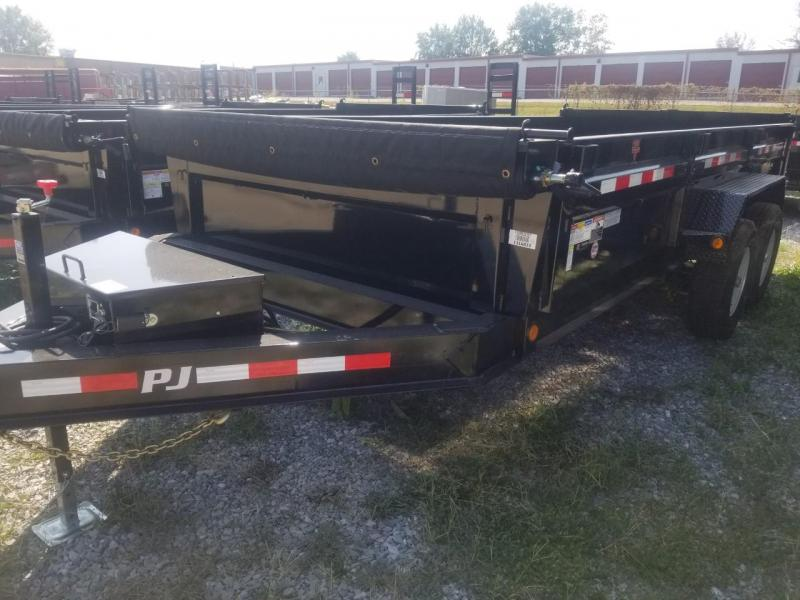 2020 PJ Trailers 16X83 LOW PRO Dump Trailer