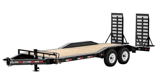 "2020 PJ Trailers 22' x 8"" Pro-Beam Super-Wide Equip (H6) Equipment Trailer"