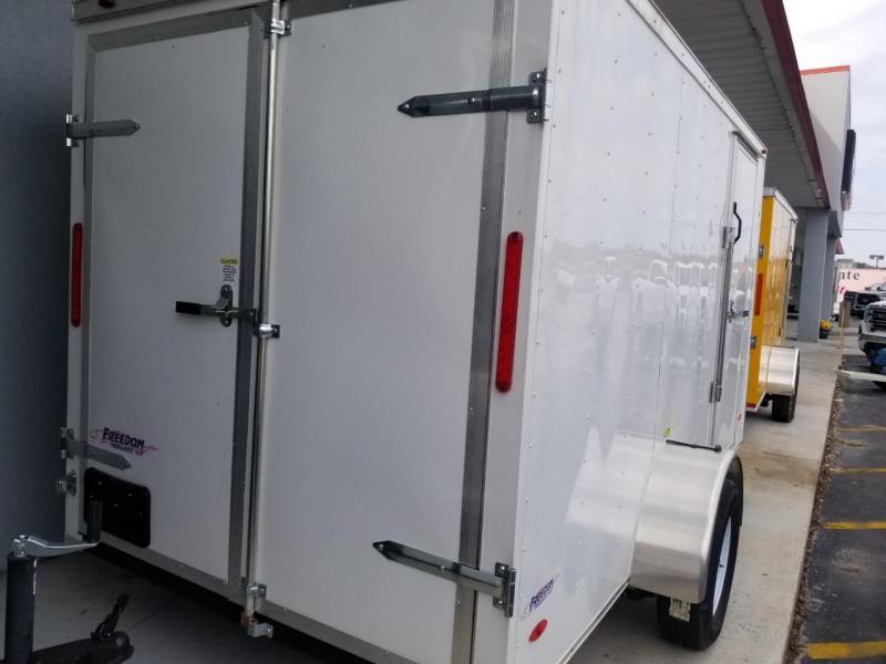 2019 Freedom Trailers 6X12 SA Enclosed Cargo Trailer