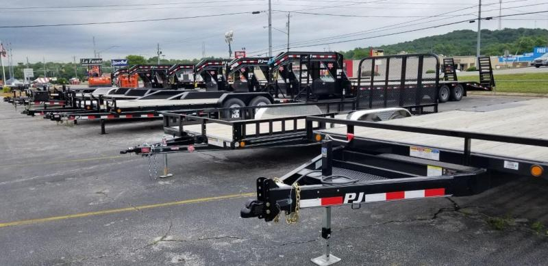 New and Used Trailers! Many in stock!! Flatdeck Equipment Dump Deckover Enclosed Tilt Utility Trailer