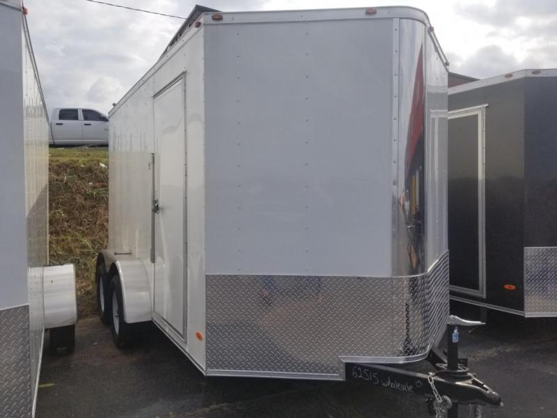 2019 Freedom Trailers 7X12 TA Enclosed Cargo Trailer