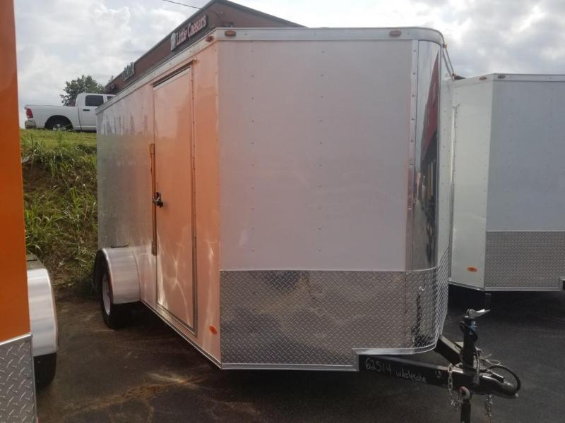 2019 Freedom Trailers 7X12 SA Enclosed Cargo Trailer