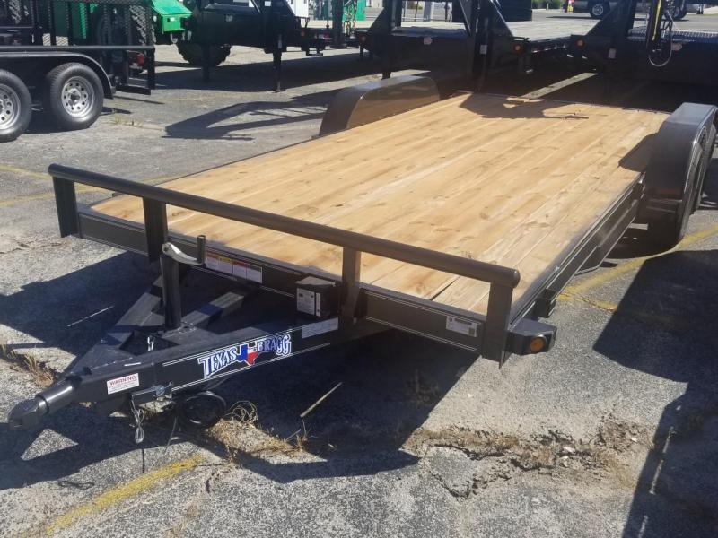 2019 Texas Bragg Trailers 18 HCH Carhauler trailer