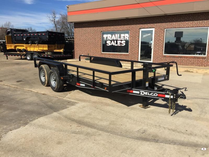 2020 Delco Trailers BC83X16252K Equipment Trailer