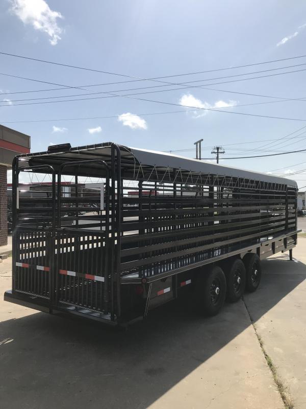 2019 Delco Trailers GB6828370 Livestock Trailer
