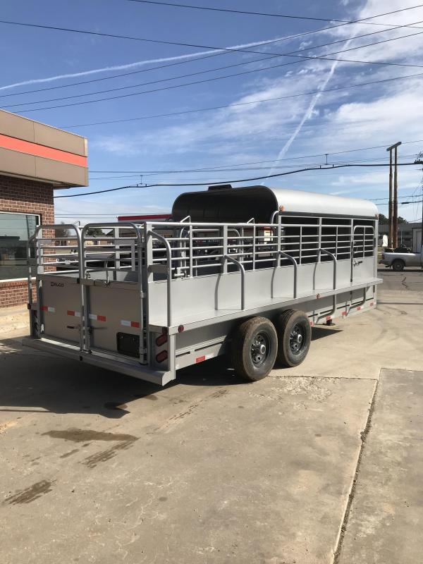 2019 Delco Trailers GP68X2027K Livestock Trailer