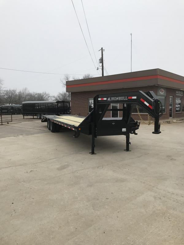 2019 Iron Bull FLG0232102 Flatbed Trailer
