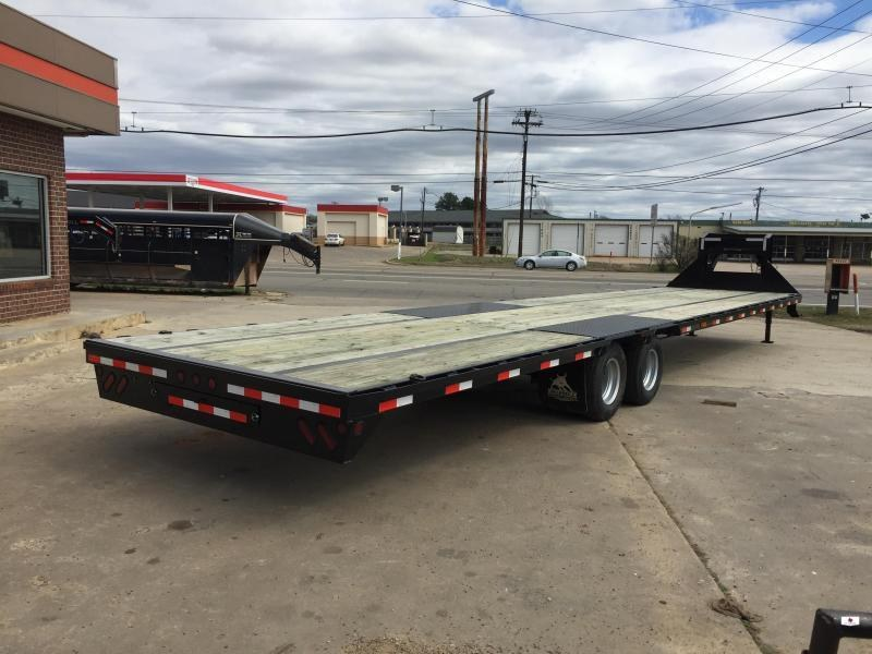 2019 Iron Bull FLG0240122 Flatbed Trailer