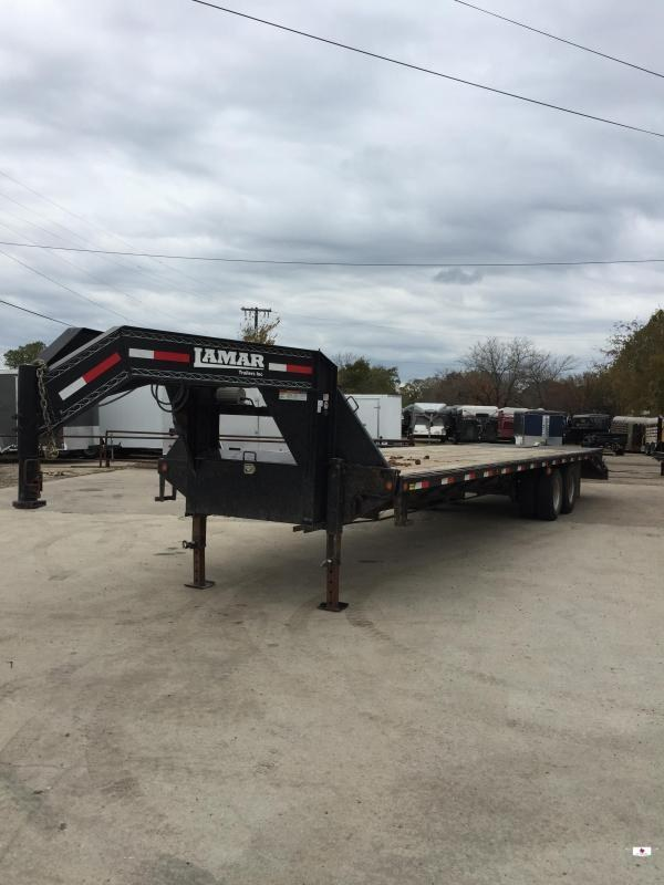2015 Lamar Trailers FD02322B Flatbed Trailer