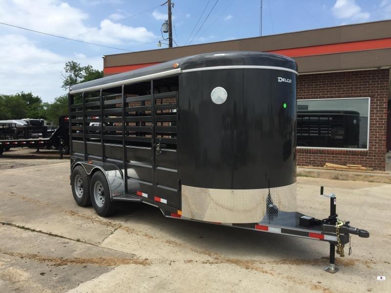 2020 Delco Trailers BS6X16252K Livestock Trailer