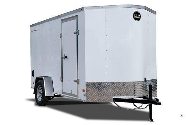 2019 Wells Cargo FT716T2 Enclosed Cargo Trailer
