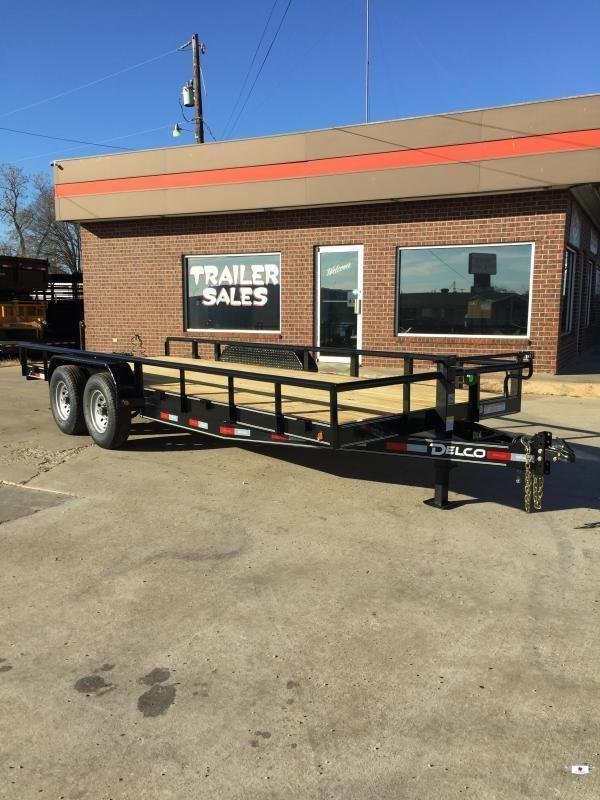 2020 Delco Trailers BC83X2027K Equipment Trailer