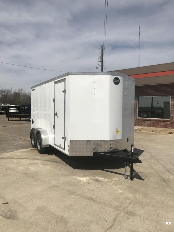 2019 Wells Cargo FT7X16 Enclosed Cargo Trailer