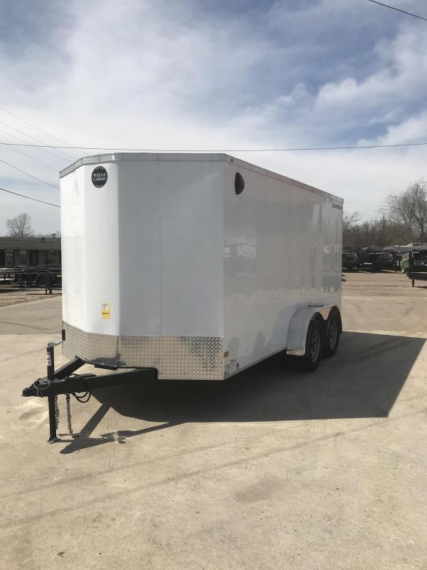 2020 Wells Cargo FT714 Enclosed Cargo Trailer