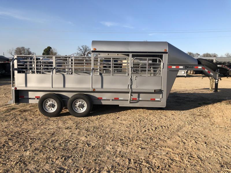 2020 Delco Trailers GP681627 Livestock Trailer