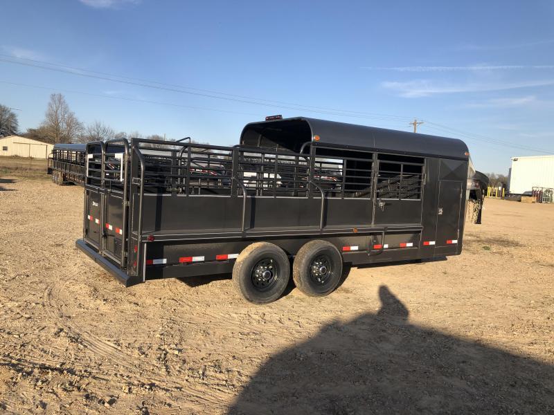 2019 Delco Trailers GB682027 Livestock Trailer