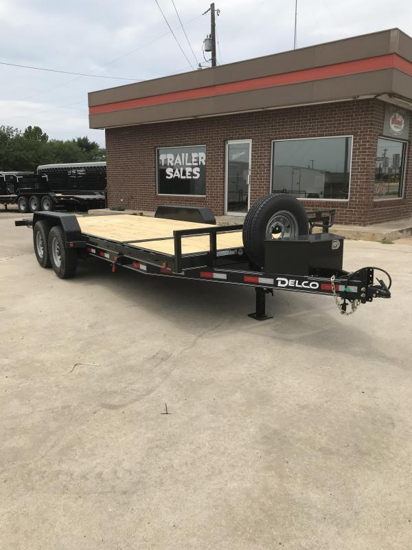 2019 Delco Trailers TB0832027 Equipment Trailer