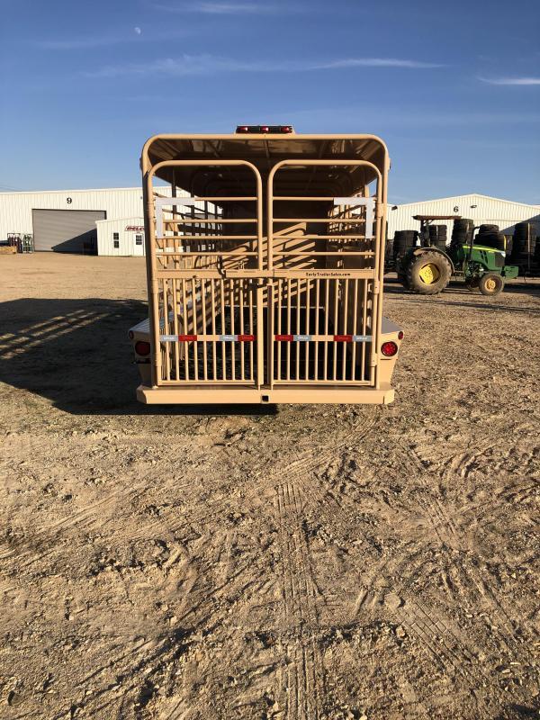 2020 Delco Trailers GM062027 Livestock Trailer