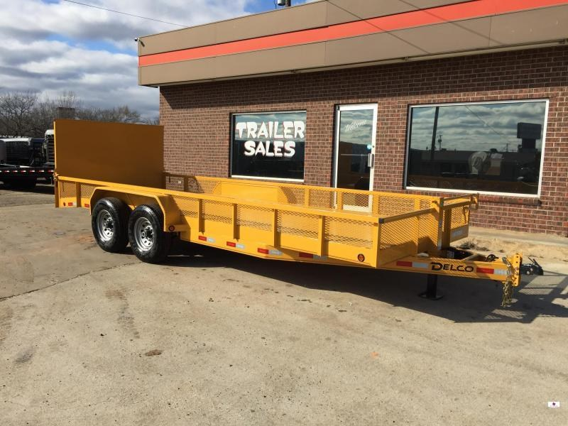 2020 Delco Trailers BC0832027 Equipment Trailer