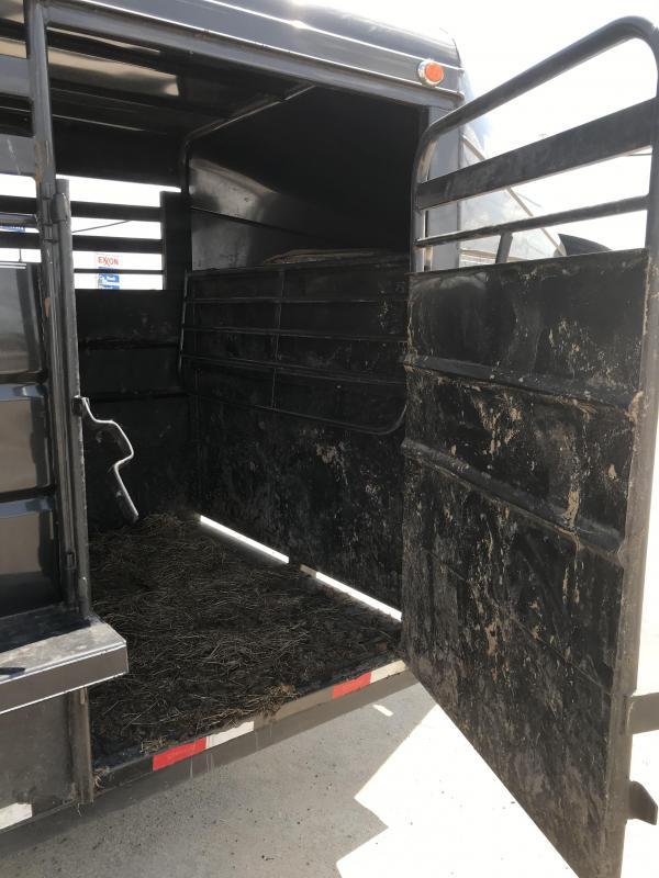 2018 Delco Trailers GM0616270 Livestock Trailer