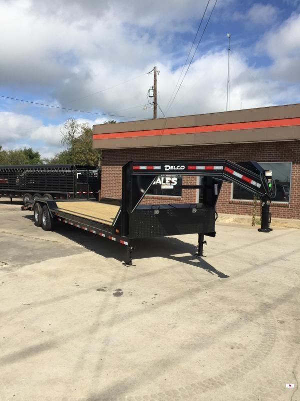 2020 Delco Trailers GC1022627 Equipment Trailer