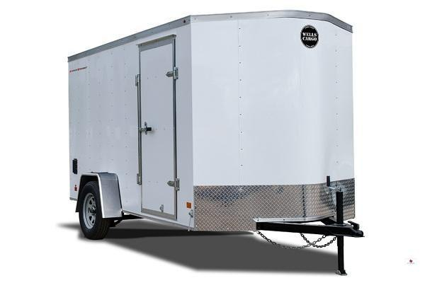 2019 Wells Cargo FT714T2 Enclosed Cargo Trailer