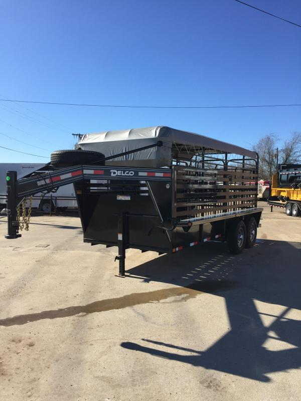 2020 Delco Trailers GB0616270 Livestock Trailer