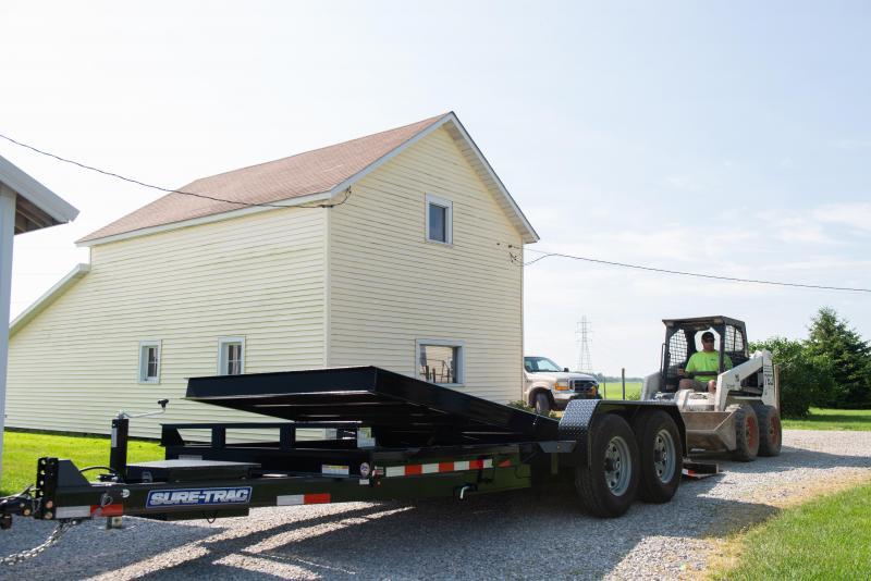 2020 Sure-Trac 7X16 TILT BED TA 14K Equipment Trailer