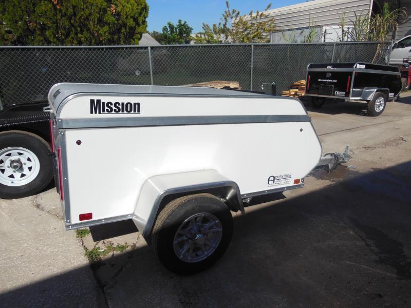 2020 Mission 4x6 Multi-Purpose Enclosed Cargo Trailer