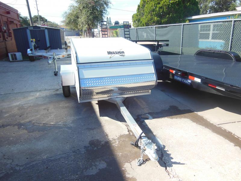 2020 Mission 4x6 Multi-Purpose Enclosed Cargo Trailer