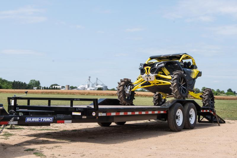2020 Sure-Trac 8.5X18 FULL WIDTH IMPLEMENT 16K Equipment Trailer