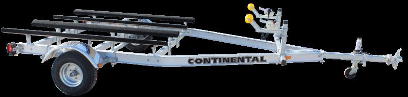 Continental Trailers AWC20E Aluminum PWC Double Watercraft Trailer