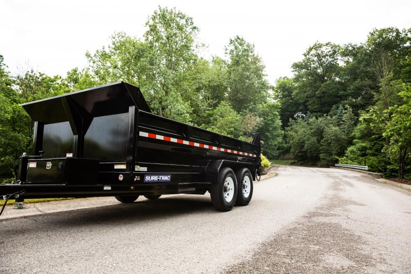 2020 Sure-Trac 7X14 SCISSOR LIFT 16K Dump Trailer