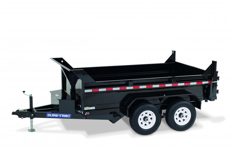2020 Sure-Trac 6x12 LP Standard duty 10K Dump Trailer