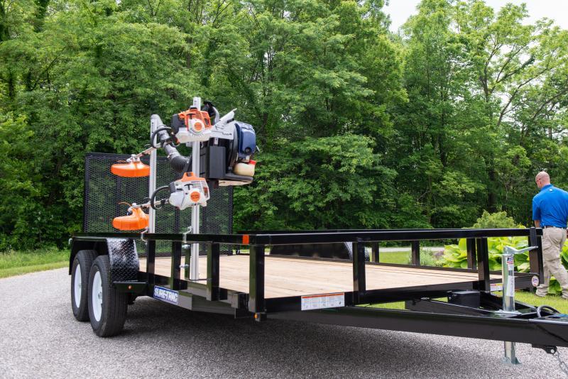 2020 Sure-Trac 7 x 16 TA 7K Utility Trailer