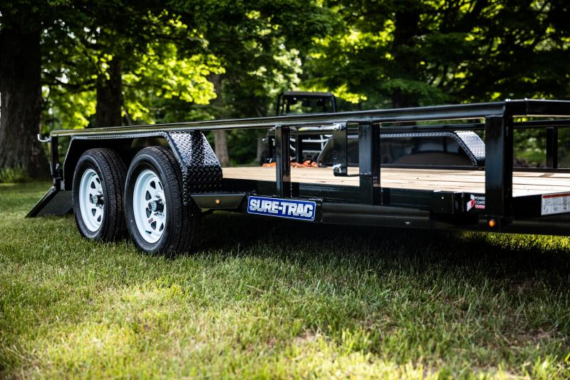 2020 Sure-Trac 7 x 18 TA 7K Utility Trailer