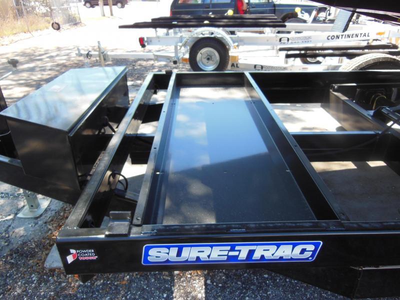 2020 Sure-Trac 7x14 TA DUAL RAM 14K Dump Trailer