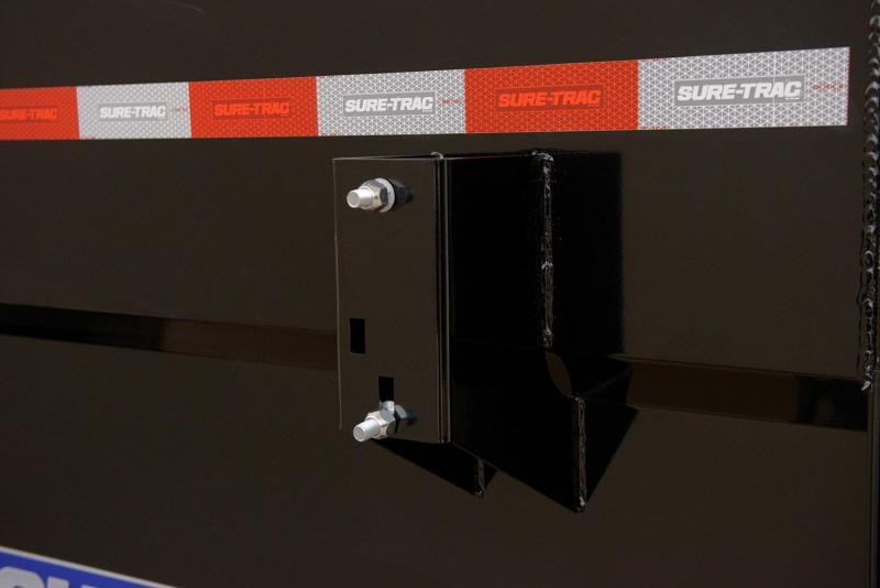 2020 Sure-Trac 7X16 SCISSOR LIFT 4'SIDES 14K Dump Trailer