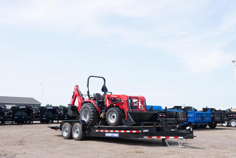 2020 Sure-Trac 7X18+4 TILT BED TA 14K Equipment Trailer