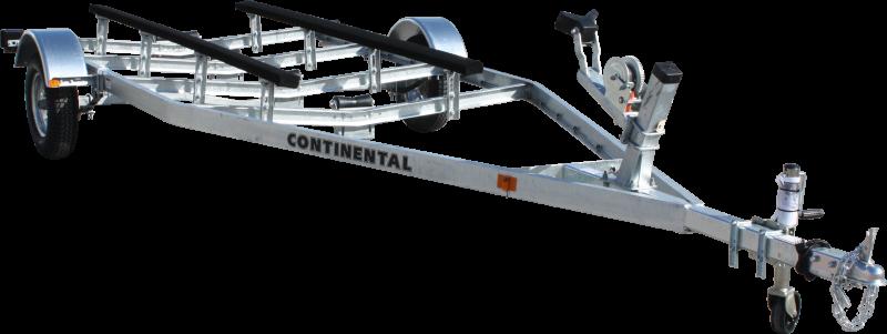 Continental Trailers EW1312V KEEL ROLLER Boat Trailer