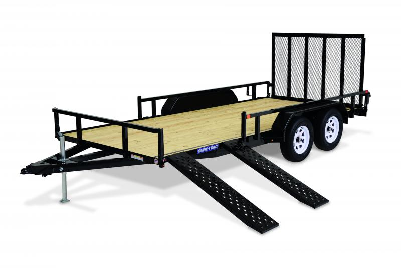2020 Sure-Trac 6 X 12 SA  ATV Trailer