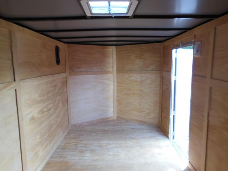 Anvil 7 x 12 SA Bikers Edition Enclosed Cargo Trailer
