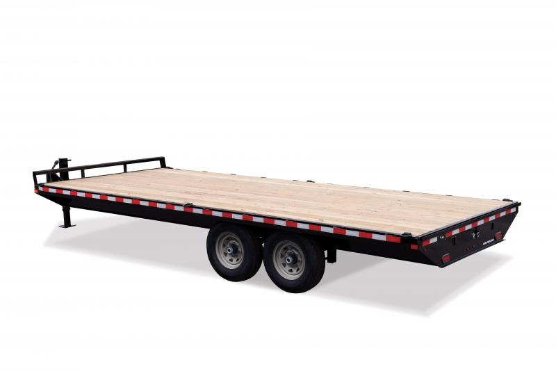2020 Sure-Trac 8.5X22 SD FLATBED DECKOVER 15K Equipment Trailer