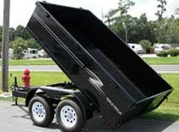 6 X 12 TRIPLE CROWN Lowrider Dump Trailer